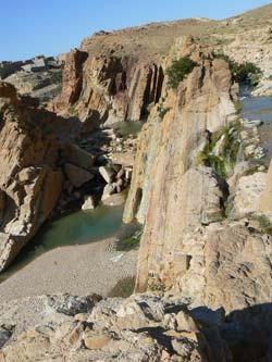 Algérie, Bou Saada, cascade © ClaudeSpringer