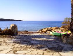 Petite plage du nord de Paphos à Chypre (Ascos Beach) © Ronald Saunders
