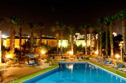 La piscine dans notre hotel à Chypre © Björn Söderqvist