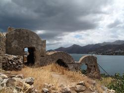 Ile Spinalonga, Crete © Charlie Phillips