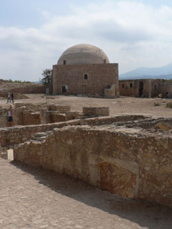 Mosque in the Fortress at Rethymnon © James Preston