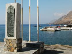 Sfakia 1941 mémorial de la guerre - crete © bazylek100