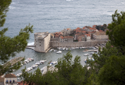 Dubrovnik Old Town Harbour © Tony Hisgett