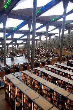Egypte, Alexandrie, la nouvelle Bibliotheque