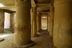 Egypte, Louxor, rive ouest, la necropole thebaine, vallee des Nobles, la tombe de Ramose
