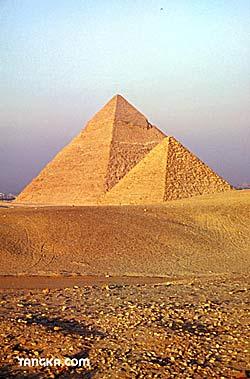 Egypte, le Caire, les pyramides de Guizeh