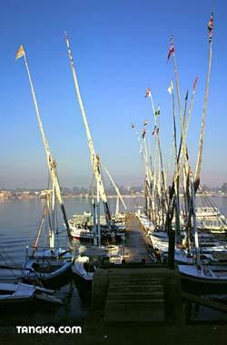 Le Nil - Felouques