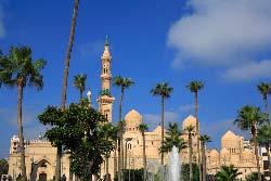 Egypte, Alexandrie, la mosquee Abou El Abbas