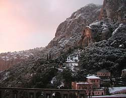 Montserrat - Lever du jour