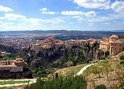Cuenca - Paysage montagneux
