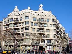 Casa Milà aka La Pedrera, Barcelone - Gaudi