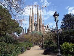 Barcelone - Sagrada Familia - Parc