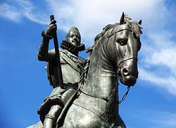 Statue de Philippe III - Madrid