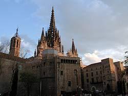 Cathédrale Sainte Eulalie - Barcelone