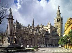 Cathédrale de Séville. Extérieur, Sevilla