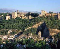 Alhambra. Vue générale, Granada