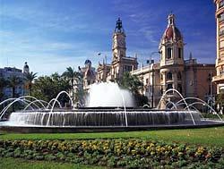 Place de l'hôtel de ville, Valencia