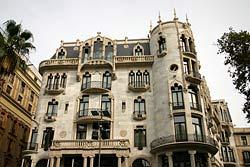Casa Fuster (Montaner) - Passeig de Garcia - Barcelone
