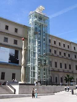 Musée de la reine Sofia - Madrid