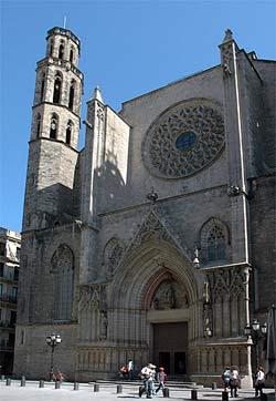 Barcelone - Santa Maria del Mar