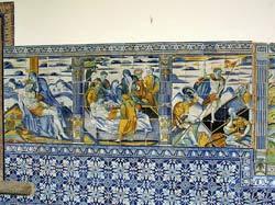 Talavera de La Reina - Azulejo - Basilique de Santa Maria del Prado