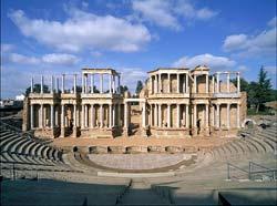 Amphithéâtre romain, Mérida, Badajoz