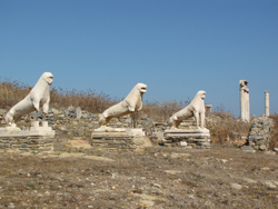 Lions of Delos © santanartist