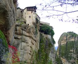 meteora monastery © alaskapine