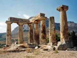 Temple of Apollo, Corinth © Alun Salt