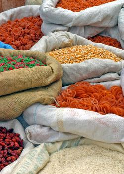 Pasta and Grains in Momostenango © David Dennis