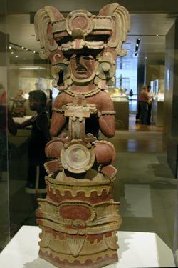 Seated Figure Censer, Mexico or Guatemala © Ed Uthman