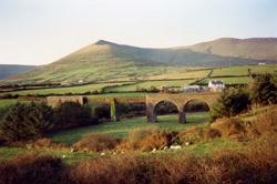 Lispole Railway Viaduct in Dingle © sludgegulper