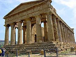 Agrigente - Temple de la Concorde (Sicile) © Rui Ornelas
