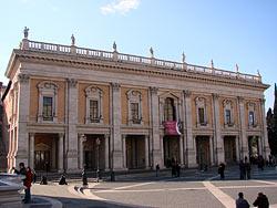 Rome, le Capitole - Palais du Conservatoire © Allie_Caulfield