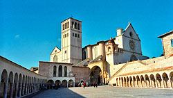 Basilique de Saint François d'Assise - Assise © Jim Linwood