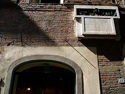 Lucques - Maison de Puccini © Ingorrr