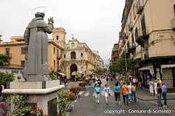 Sorrento - Piazza Tasso © Comune di Sorrento