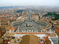 Vatican - Place Saint Pierre - Rome © Pablo G. Pando