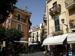 Taormina - Centre ville © Leandro's World Tour
