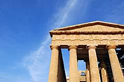 Agrigente - Temple de la Concorde (Sicile) © dottorpeni