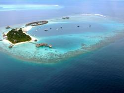 Sea Plane Over Maldives © sarah_Ackerman