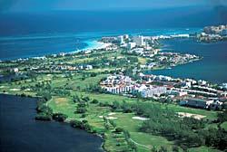 Vue aérienne de Cancun - Mexique © Bruce Herman