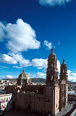 Cathédrale de Zacatecas - Mexique © Carlos Sanchez