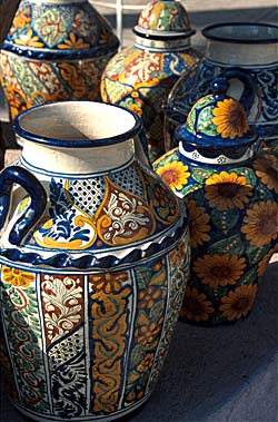 Céramiques Dolores Hidalgo, région de Guanajuato - Mexique © Pablo De Aguinaco