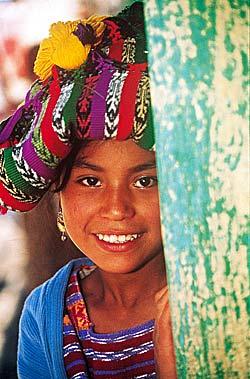 Jeune fille mexicaine © Mondeos