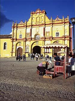 Cathédrale de San Cristobal De Las Casas - Mexique © Ignacio Guevara
