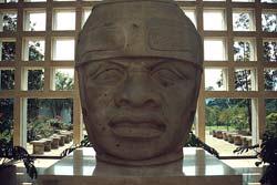 Tête d'Olmèque, musée de Xalapa - Vera Cruz, Mexique © Carlos Sanchez