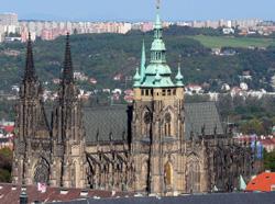 Prague Cathedral © Zachi Evenor
