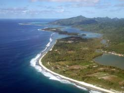 Agricultural runoff, Huahine, French Polynesia © eutrophication&hypoxia