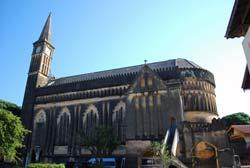 Eglise catholique à Stonetown, Zanzibar © Brandon Daniel